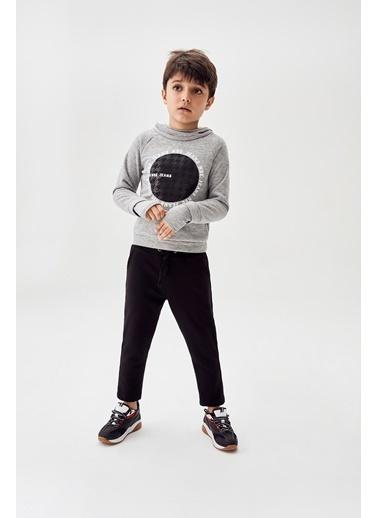 Nebbati Erkek Çocuk Siyah Eşofman Altı Siyah